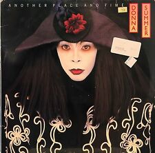 DONNA SUMMER ANOTHER PLACE AND TIME LP 1989 THIS TIME I KNOW IT'S FOR REAL