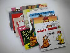 Garfield the Cat Lot of 15 Postcards Jim Davis Argus Publications
