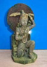 Buddha Warrior Thai Statue Aquarium Ornament Fish Tank Bowl Decoration New