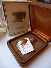 JEAN PATOU 1000 PARFUM 7.5ml VINTAGE 1970s SUEDE CASE NEW SEALED BOTTLE WITH BOX