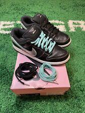 Nike SB Dunk Low PRO OG QS Black Diamond Supply BV1310-001 US 10.5 USED