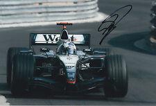 David Coulthard West McLaren Mercedes F1 HAND SIGNED 12x8 Foto 1.