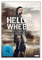 Hell on Wheels Complete Series 4 DVD 4th Fourth Forth Season Four UK Compati NEW