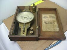 Hagger Brothers Baltimore Surveyors Brass Compass In Box