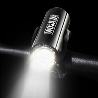 Waterproof Cycling Mini Head Light LED USB Rechargeable Bicycle Bike Front Lamp