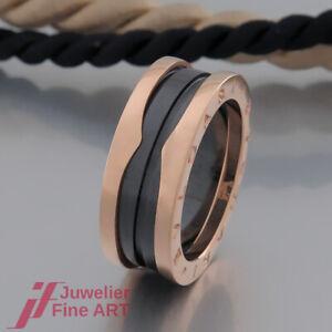 20% auf UVP - Original BVLGARI (Bulgari) Ring - B.Zero1- Keramik-Ref. 347049-NEU