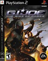 G.I. Joe: The Rise of Cobra (Sony PlayStation 2, 2009) *NO MANUAL*