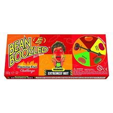 Jelly Belly Bean Boozled Spicy Beans Extremely Hot Challenge Set With Spinner