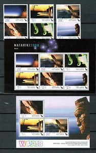 Neuseeland / New Zealand -  Kultur der Maori  2008 (postfrisch / ** / MNH)