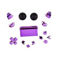 Sony PS4 Playstation 4 Full Button Set Chrom-Optik - Purple