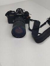 Minolta XD11 Camera & Soligor 35-140mm lens