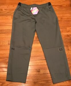 Women's Under Armour Notre Dame Fighting Irish Infrared Pants NWT 2XLT XXL Tall