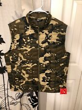 The North Face Thermoball Vest In Camo Mens Large NWT Msrp$150+ TNF Sale
