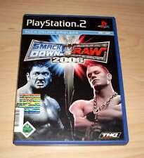 PLAYSTATION 2-SmackDown! vs. Raw 2006 arti marziali tedesco completo ps2