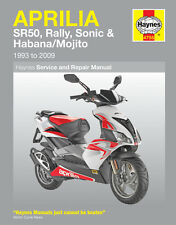 HAYNES 4755 SERVICE & REPAIR MANUAL APRILIA SR50 HABANA MOJITO SCOOTER 99 - 09