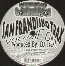 DJ EFX - San Frandisko Trax Volume One - souterrain construction - UC 107 Usa