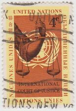 (UN51) 1961 United Nations 4c Scales of Justice ow88