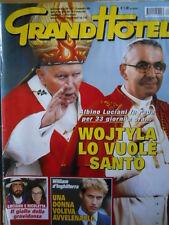 GrandHotel n°37 2002  Fotoromanzo con Sonia Bruganelli e Simona Tagli  [C35A]