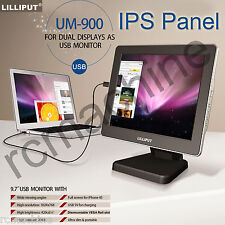 """Lilliput 9.7"""" IPS HDMI USB Monitor UM-900 for PC dual screen iPhone android PC"""