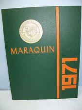 1971 Maraquin, Saint Thomas Aquinas High School, New Britain, Conn Yearbook