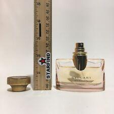 Bvlgari Rose Essentielle Eau De Parfum Spray USED 1 oz 30 ml Italy Cap Wear SEE
