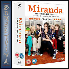 MIRANDA - COMPLETE COLLECTION - SERIES 1 2 & 3 PLUS FINALE*BRAND NEW DVD BOXSET*