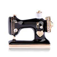 Broche de forma de maquina de coser Accesorio de vestir de Hijab unicos Y1U7