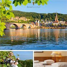 3 Tage Kurzreisen Heidelberg Speyer und Worms 3★ Hotel Excelsior Ludwigshafen