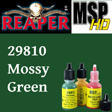 MOSSY GREEN 29810 - MSP HD 15ml 1/2oz paint pot peinture REAPER MINIATURE vert