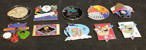 10 2002 Salt Lake Winter Olympic Games Pins- Combined shipping available