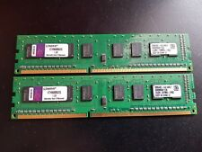 4GB ( 2 x 2GB ) PC3-10600 DDR3-1333 MHz NON ECC Kingston KTH9600BS/2G