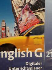 English G 21 A4 Digitaler Unterrichtsplaner CD-ROM Lehrersoftware Buch Material