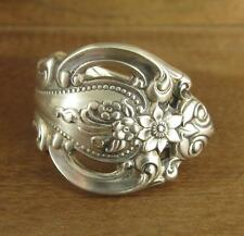 Spoon Ring Band, Wallace Grand Victorian Sterling Silver 19.9 grams Size 11 #259