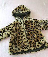 Cradle Togs Size 12 Months Girls Cheetah Print Jacket