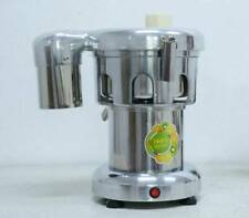 110V Commercial Electric Juicer Machine Stainless Steel Juice Extractor