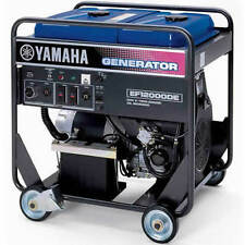 Yamaha EF12000DE - 9,500 Watt Electric Start Portable Generator