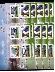 // 10X ROMANIA - MNH - WWF - NATURE - BIRDS- 2006