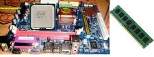 G41 MotherBoard+Dual core 3.0 GHZ +4GB DDR3 Ram Free intel fan