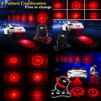 Car Motorcycle Alarm Laser Fog Light Rear Taillights Warning Anti-Collision LamJ