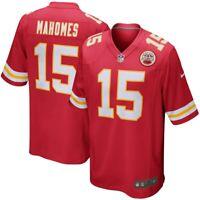 Brand New Nike 2019 NFL Kansas City Chiefs Patrick Mahomes #15 Game Jersey NWT