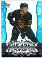 "2020-21 Upper Deck UD Tim Hortons Hockey Phenoms Clear Cut ""You Pick from list"""