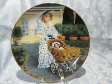 """J - Shirley Temple """"Bright Eyes"""" Collectors Plate"""