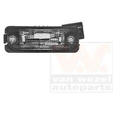 ORIGINAL VAN WEZEL 5894920 Kennzeichenleuchte VW Golf V Ibiza