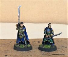 Warhammer lotr painted,  Elrond and Gil-Galad