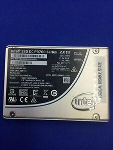 "SSDPE2MD020T4 Intel DC P3700 Series 2.0TB 2.5"" PCIe NVMe SSD"