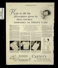 1928 Carter's Underwear Infants and Children Vintage Print Ad 17014