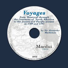 Voyages from Montreal 1902 by Sir A. Mackenzie,Robert Waite 2 PDF E-Books 1 DVD
