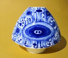 Vase FÜRSTENBERG --------- Kobalt -  Dekor -------- 70er Jahre --------- 1429/12
