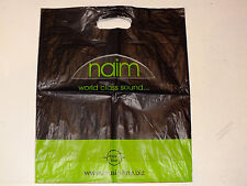Naim Audio GENUINE plastic carrier bag with Naim, Focal, Music Line distributor