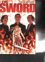 The Sword Vol 1: Fire by The Luna Brothers TPB 1st Print 2008 Image Comics
